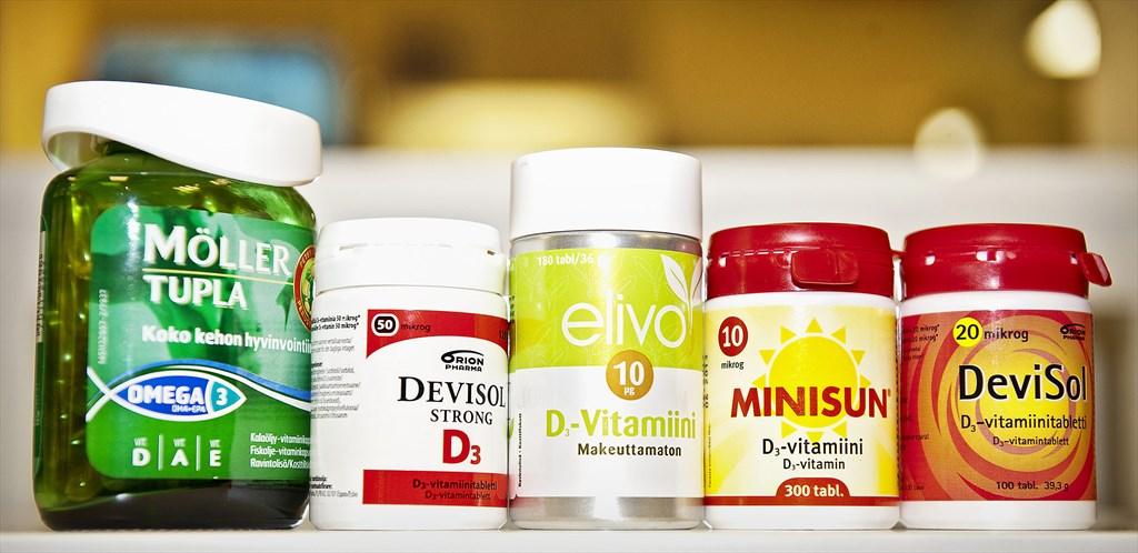D-Vitamiinin Puute