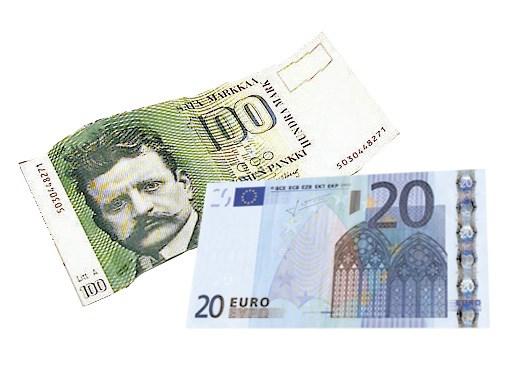Markat Euroiksi