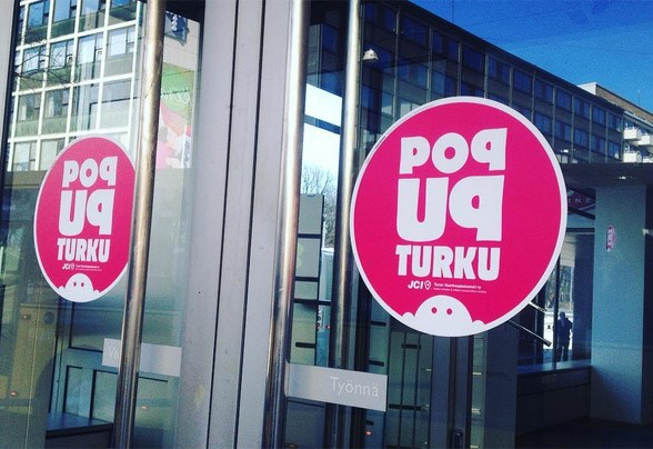 Pop-up Turku on Turun Nuorkauppakamarin hanke.