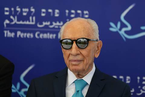 Shimon Peres on kuollut.