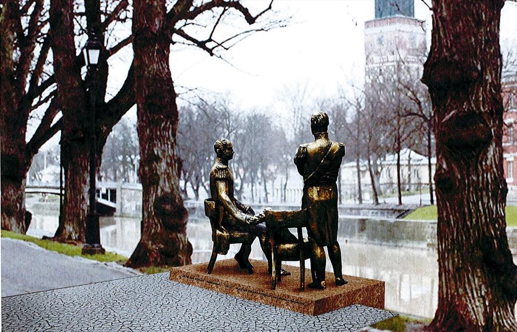 Kuvahaun tulos haulle Aleksanteri ja Kaarle Juhana