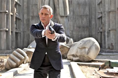 Daniel Craig James Bondina