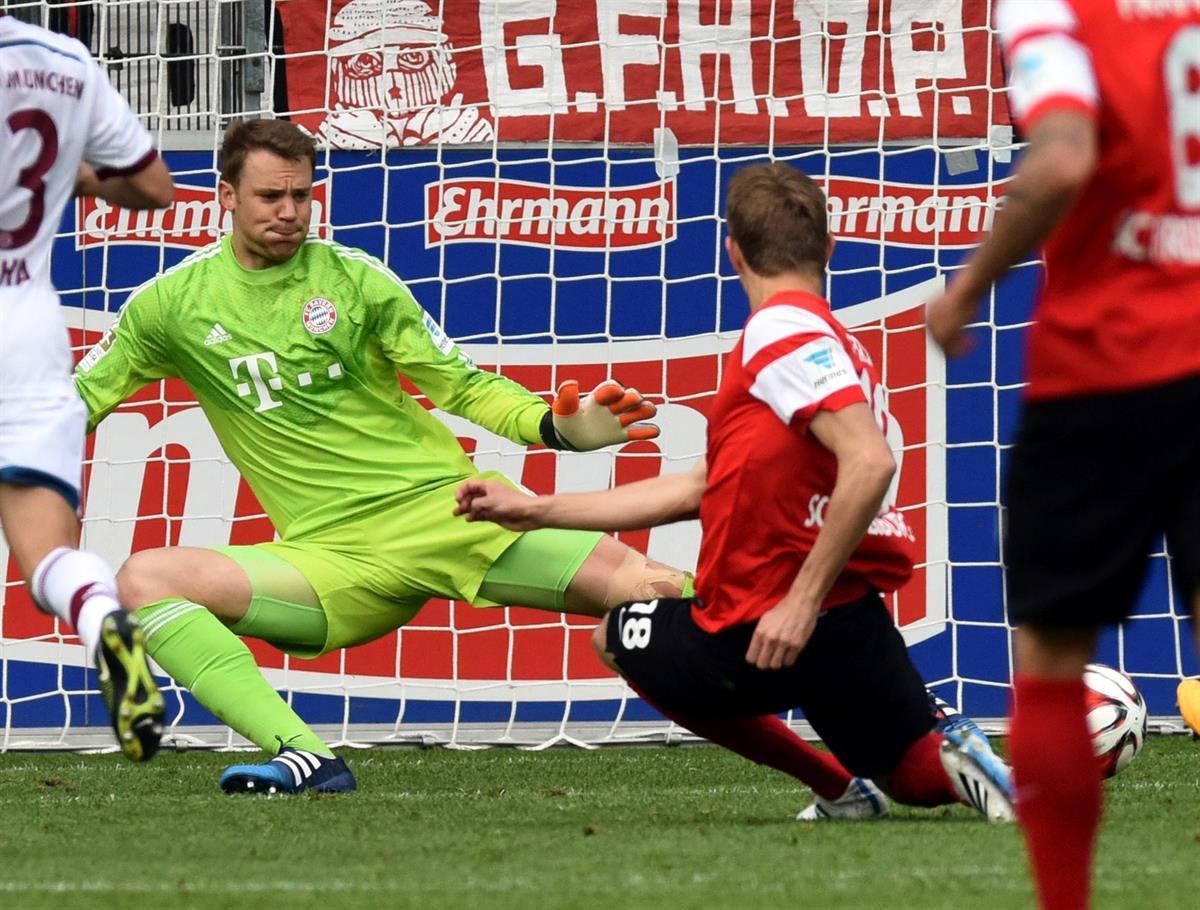 Bayern Münchenin tähtimaalivahti Neuer leikattiin, sivussa pitkään - Urheilu - Turun Sanomat