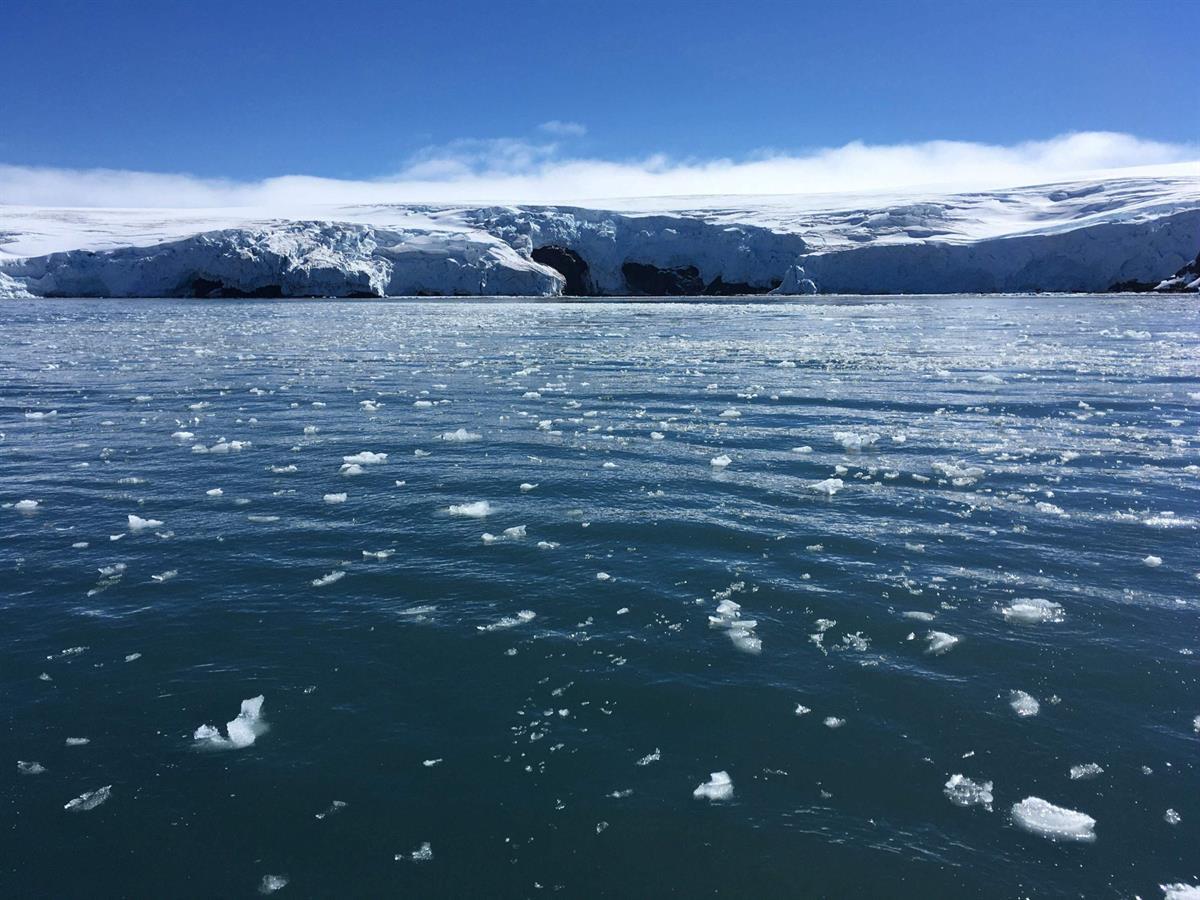 etelämantereen jääpeite kasvaa