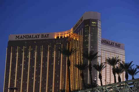 The Mandalay Bay Hotel and Casino.