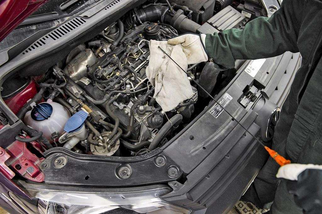 Audi öljy vähissä