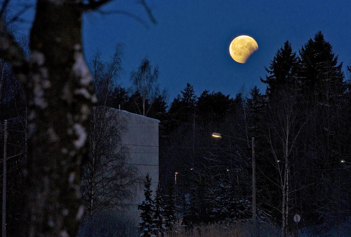 Kuu pimeni – harvinainen ilmiö nähdään seuraavan kerran vasta vuonna 2025