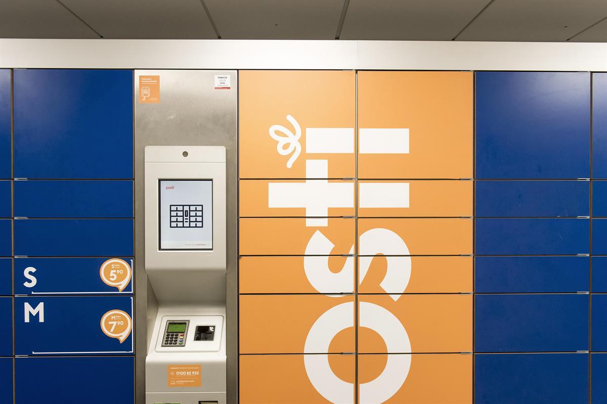 Pakettiautomaatilla Lähetys