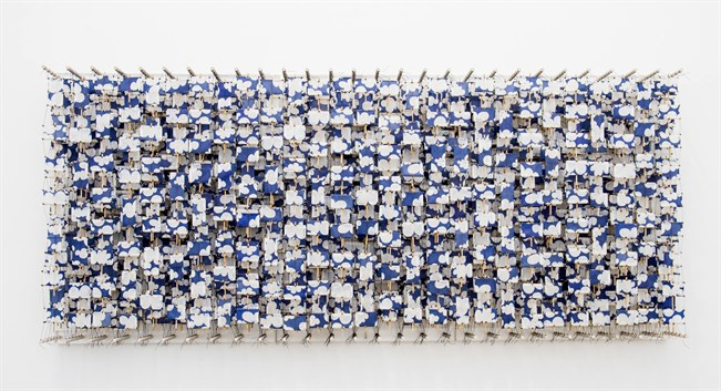Jacob Hashimoto: The Halo (Infinite Expanse of Sky).