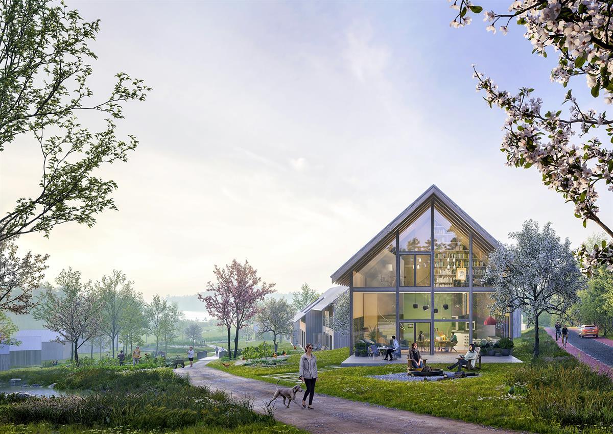 periaatteella Kaarinaan suunnitelmana hiilineutraali asuinalue