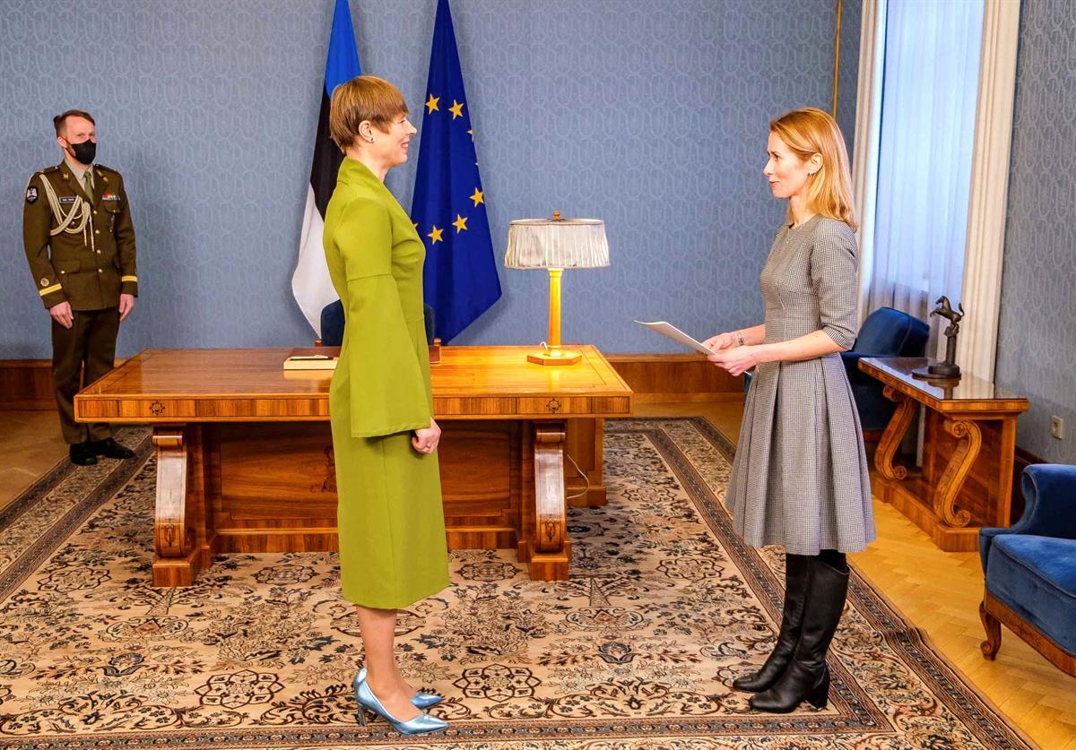 Kaja Kallas on nousemassa Viron pääministeriksi