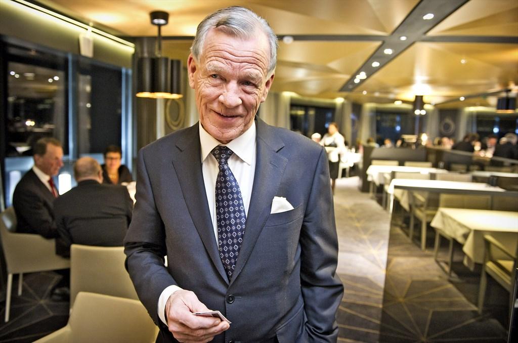 Ahvenanmaalainen Kauppaneuvos Anders Wiklf Turussa  Ts