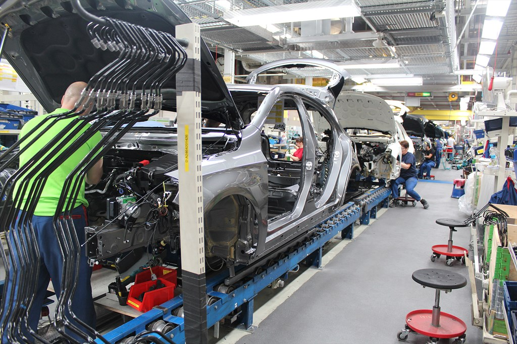 Autotehtaan palkat