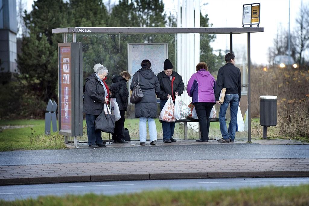 Bussipysäkillä