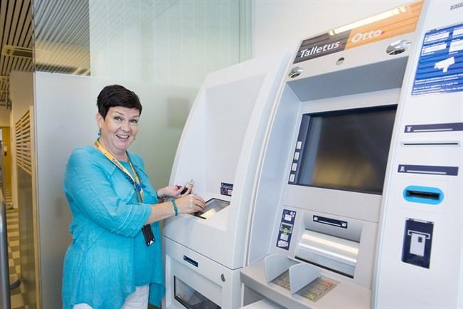 rahan talletus automaatti