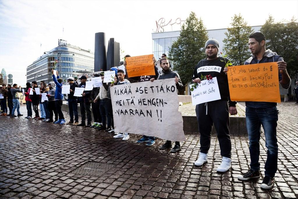 Irakilaiset turvapaikanhakijat suomessa