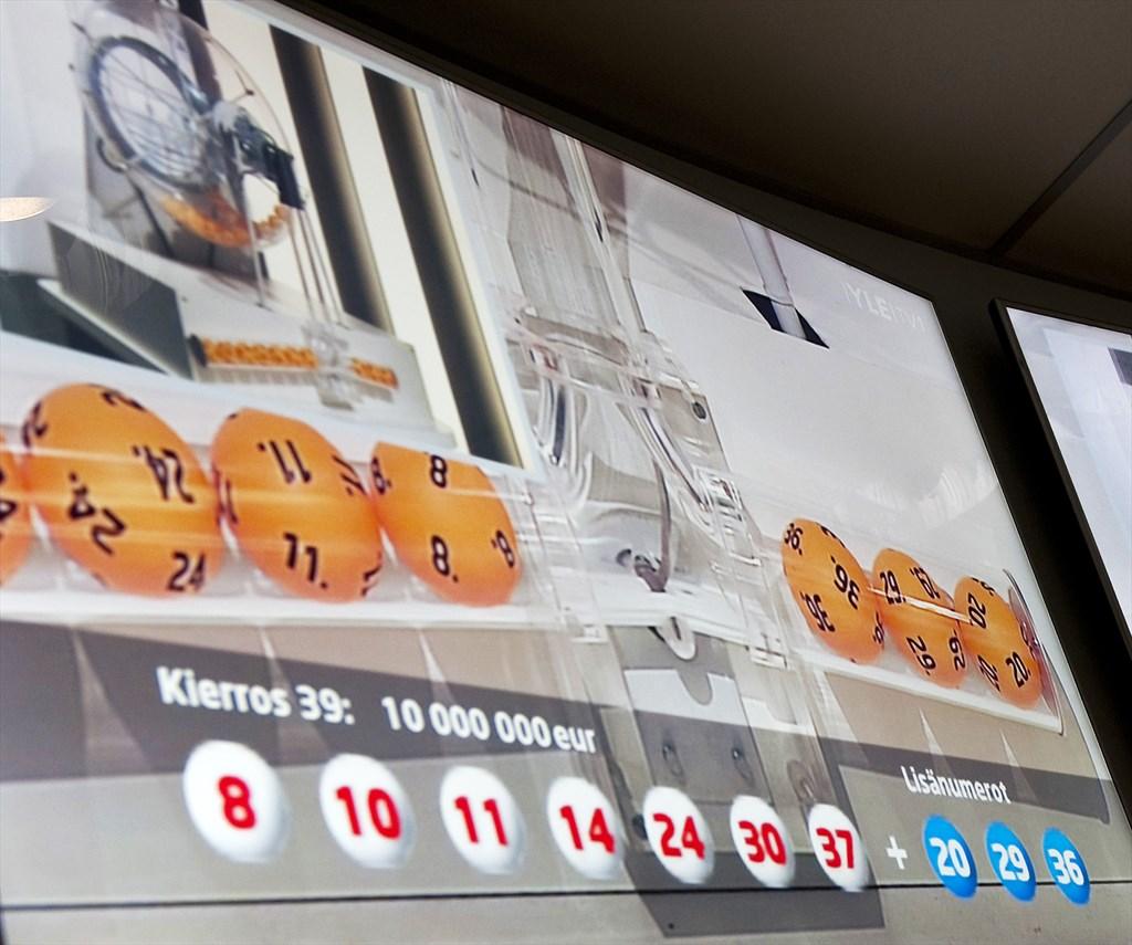 lotto oikea rivi 3.8