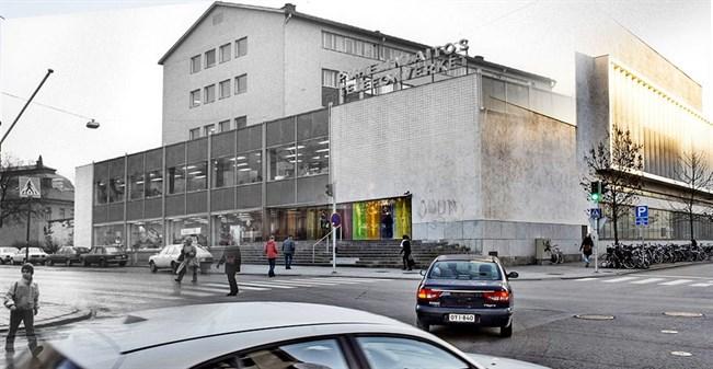 Uusi Turku nousee vanhan päälle – katso kuvaparit  Paikalliset  Turun Sanomat