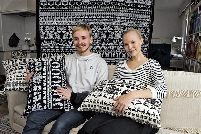 Saana Ja Olli : Saana ja olli design from finland merkin kummisuunnittelijaksi