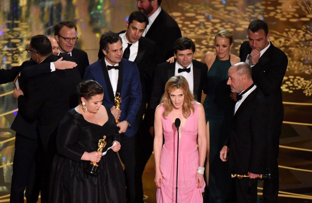 Paras elokuva Spotlight, paras miesnäyttelijä Leonardo DiCaprio - Kulttuuri - Turun Sanomat
