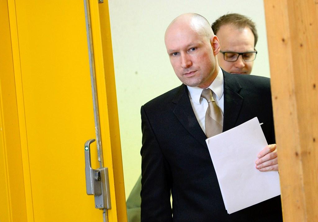 Anders Breivik Tuomio